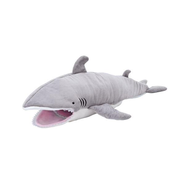 食べられちゃうベッド サメ【ペット用品・猫用】