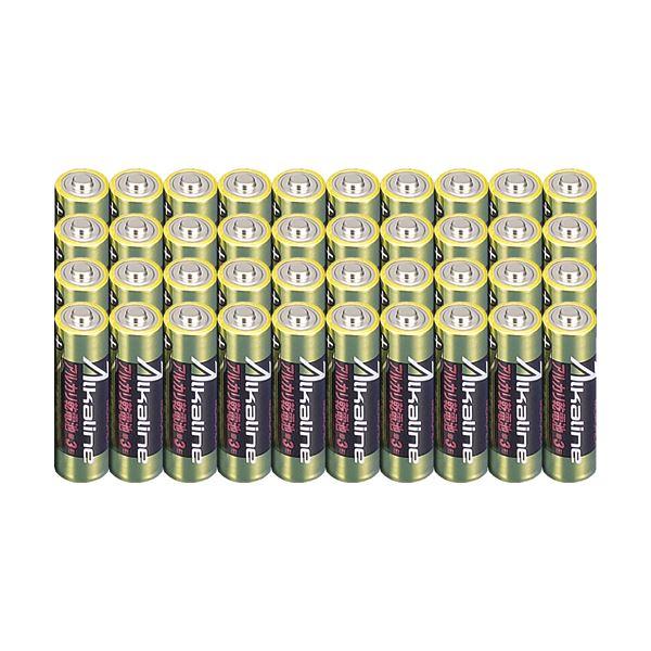 メモレックス・テレックス アルカリ乾電池単3形 LR6/1.5V40S 1セット(400本:40本×10パック)