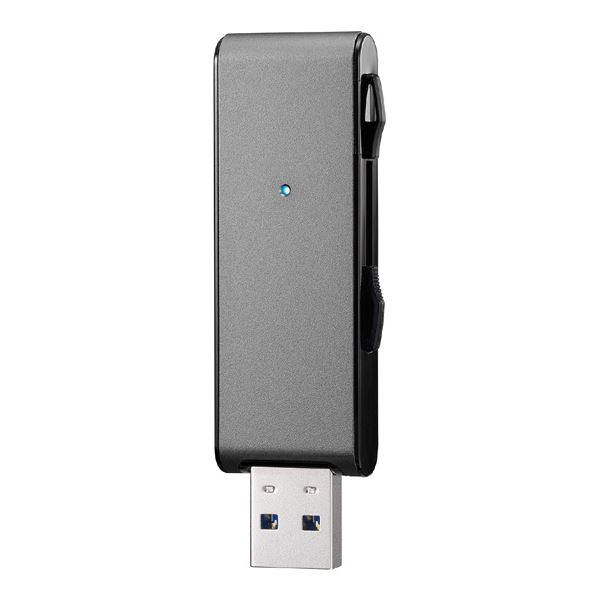 アイ・オー・データ機器 USB3.1 Gen 1(USB3.0)対応 USBメモリー 64GB ブラック