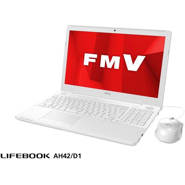 FUJITSU LIFEBOOK AH42/D1 プレミアムホワイト