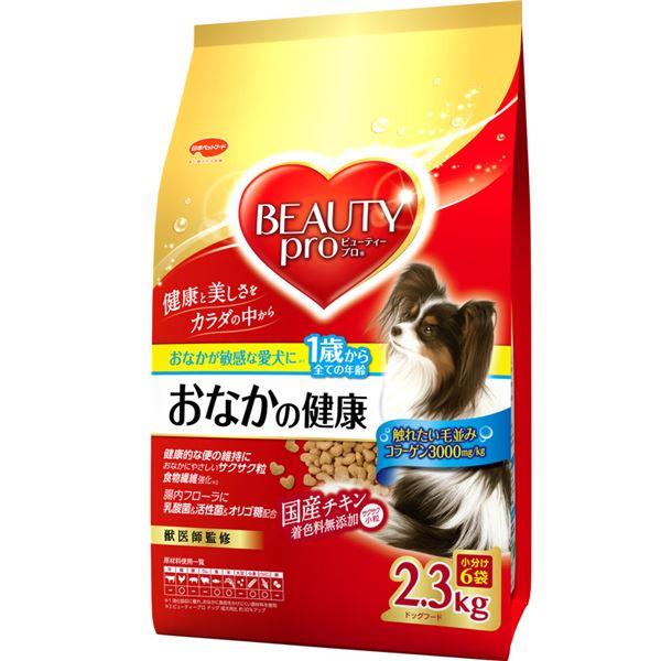 (まとめ)ビューティープロ ドッグ おなかの健康 1歳から 2.3kg【×4セット】【犬用フード/ペット用品】