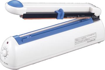 富士インパルス 卓上型シーラー(ポリシーラー) PC-200 カッター付 PC200 パック/包装/シール/ラッピング/密封