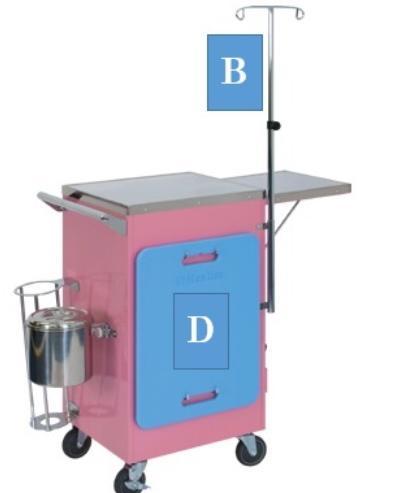 【送料無料】高田ベッド Takada Bed オプション 救急カート専用蘇生板 TB-1259-04  TB-1274/TB-1257/TB-1258用
