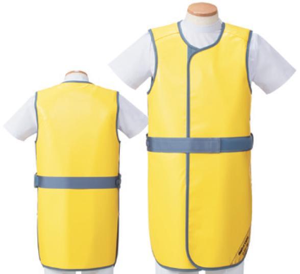 【送料無料】羽衣 放射線障害防護/X線防護 防護衣シンプラーコート SSC-25L Lサイズ ソフライト(含鉛) カラー全7色  医療/病院/クリニック