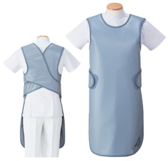 【送料無料】羽衣 放射線障害防護/X線防護 防護衣シンプラーエプロン  MSA-35LL LLサイズ マジカルライト(無鉛) 全7色 医療/病院/クリニック