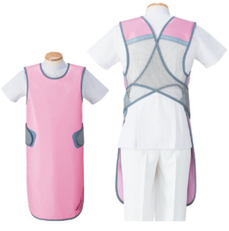 【送料無料】羽衣 放射線障害防護/X線防護 防護衣シンプラークール  SMA-25L  Lサイズ ソフライト(含鉛) 全7色 医療/病院/クリニック