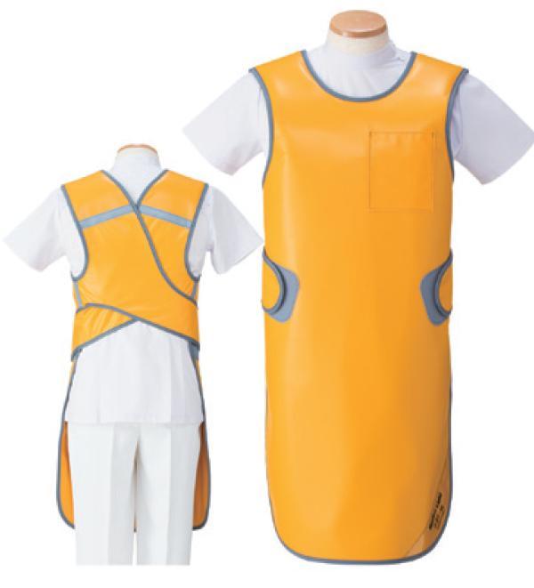【送料無料】羽衣 放射線障害防護/X線防護 防護衣エプロン MLA-35L Lサイズ マジカルライト(無鉛) カラー全7色  医療/病院/クリニック