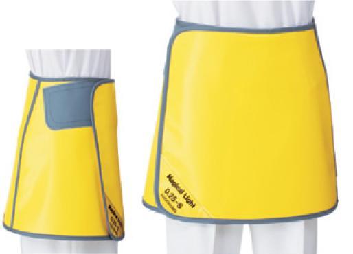 【送料無料】羽衣 放射線障害防護/X線防護 巻スカート SSW2-25LL LLサイズ ソフライト(含鉛) カラー全7色  医療/病院/クリニック