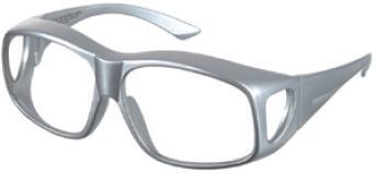 【送料無料】羽衣 放射線障害防護/X線防護 顔面防護 フェイスガードFG X線防護メガネ FG50-770  眼鏡/目の防護 眼鏡の上から着用OK!オーバーグラス