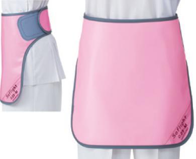 【送料無料】羽衣 放射線障害防護/X線防護 防護衣 ワイドマジックベルト式スカート SLSM-25L Lサイズ ソフライト(含鉛) カラー全7色  医療/病院/クリニック