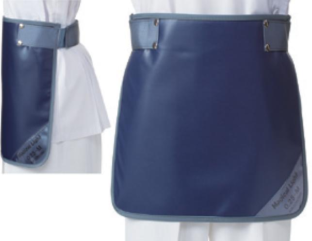 【送料無料】羽衣 放射線障害防護/X線防護 防護衣 マジックベルト式スカート SPSM-25L Lサイズ ソフライト(含鉛) カラー全7色  医療/病院/クリニック