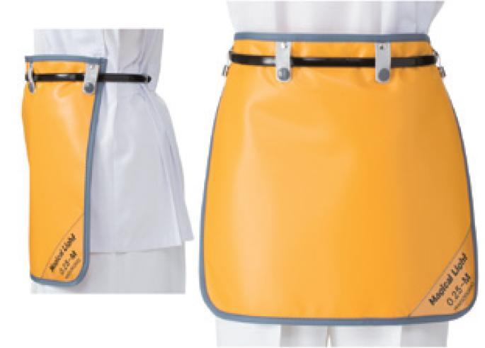 【送料無料】羽衣 放射線障害防護/X線防護 防護衣 スプリングト式スカート MPSS-35M Mサイズ マジカルライト(無鉛) カラー全7色  医療/病院/クリニック