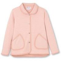 日本エンゼル ハニカムニット衿付きジャケット(婦人用) 5553-A S~LLサイズ ピンク・グレー
