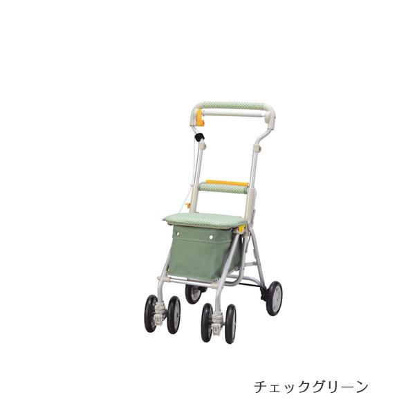 象印ベビー シルバーカー ヘルスバッグ ライトミニGN チェックグリーン・チェックブルー 【送料無料】