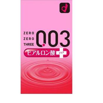 オカモト ゼロゼロスリー 003 ヒアルロン酸 コンドーム 避妊具 10個入×12箱
