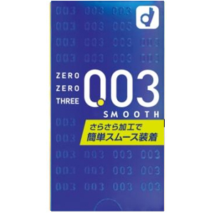 オカモト ゼロゼロスリー 003 スムース コンドーム 避妊具 10個入×12箱