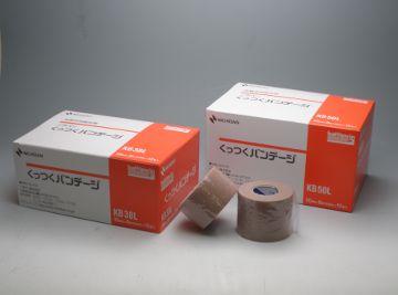 NICHIBAN(ニチバン) くっつくバンデージ KB50L 50mm×8m(伸長時) 12巻 バトルウィン/ハサミ不要/止め具不要