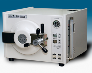 富士医療測器 高圧蒸気滅菌器 EAC-2200S オートクレーブ 【代引き不可】【設置なし】