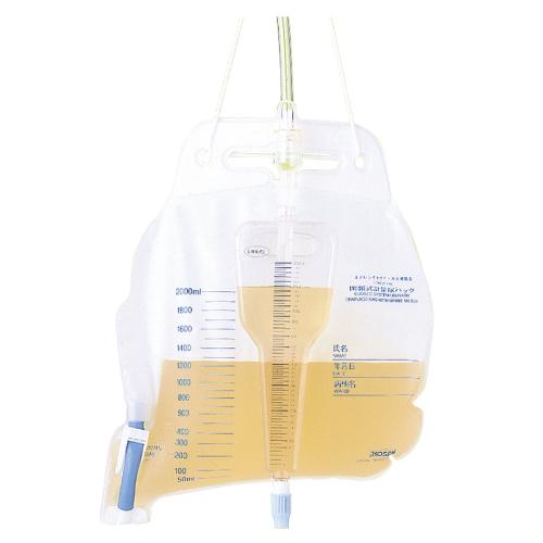 閉鎖式計量尿パック ユリナース 200ml/2000ml 10枚入 蓄尿袋