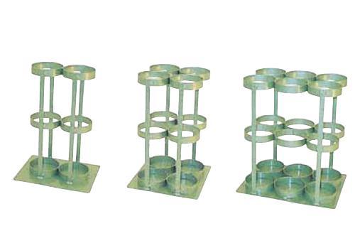 4本用 KBS5-4 酸素ボンベスタンド 500L