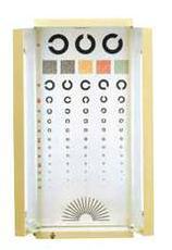 視力照明装置(中泉式) サイズ(mm)/(460×600)×880