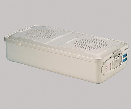 滅菌コンテナー(上蓋フィルター滅菌穴付セット) ディスポ紙フィルター仕様 F110 タイプL 高さ150mm