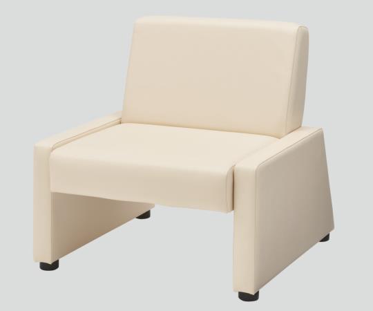 AS-SBW 730×800×760 ミルク ユニバーサルソファベッド フラットなひじ掛けで快適な寝心地  8-6481-02