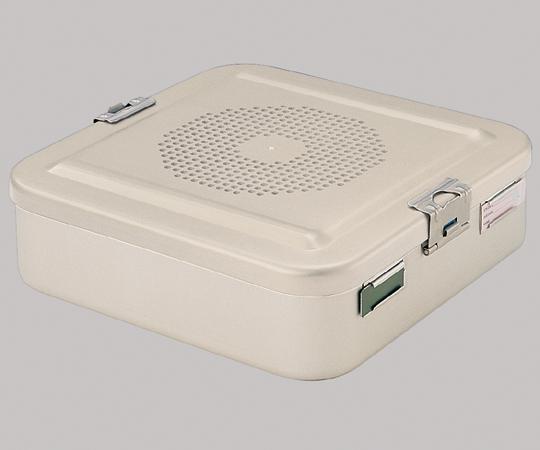 滅菌コンテナー(上蓋フィルター滅菌穴付セット) ディスポ紙フィルター仕様 F310 タイプS 高さ135mm