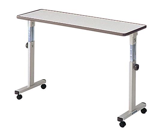 PT-5100 ホワイト 1200×400×650~1000 オーバーテーブル ベッドテーブル シーホネンス 【代引き不可】