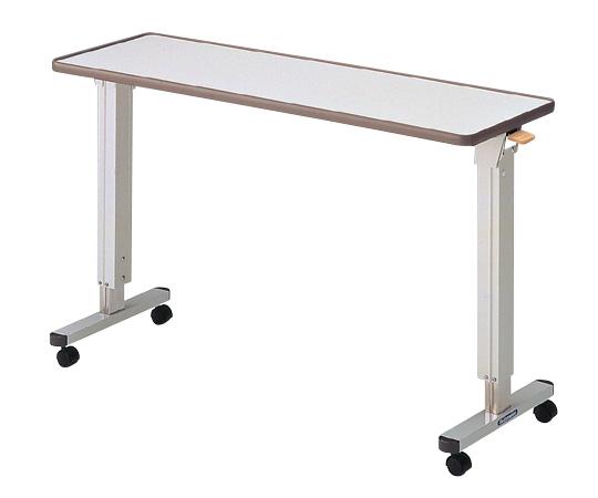 PT-5000 ホワイト 1200×400×690~950 オーバーテーブル ベッドテーブル