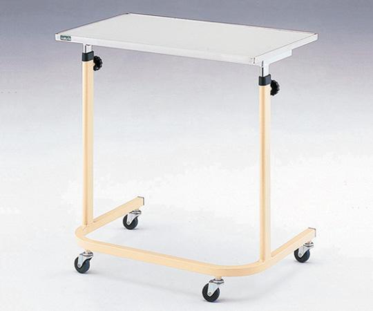 navis(ナビス) 0-5599-01 NSU サイドテーブル(U脚型) 700×450×700~1060 ベッドテーブル