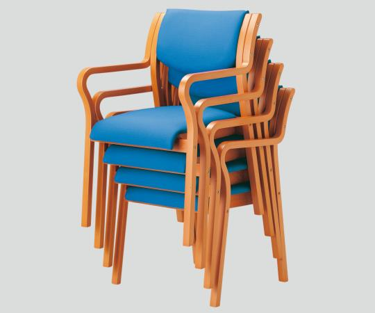 NEW 木製椅子(ビニールレザー張りタイプ) MW-320(VG1) 角背