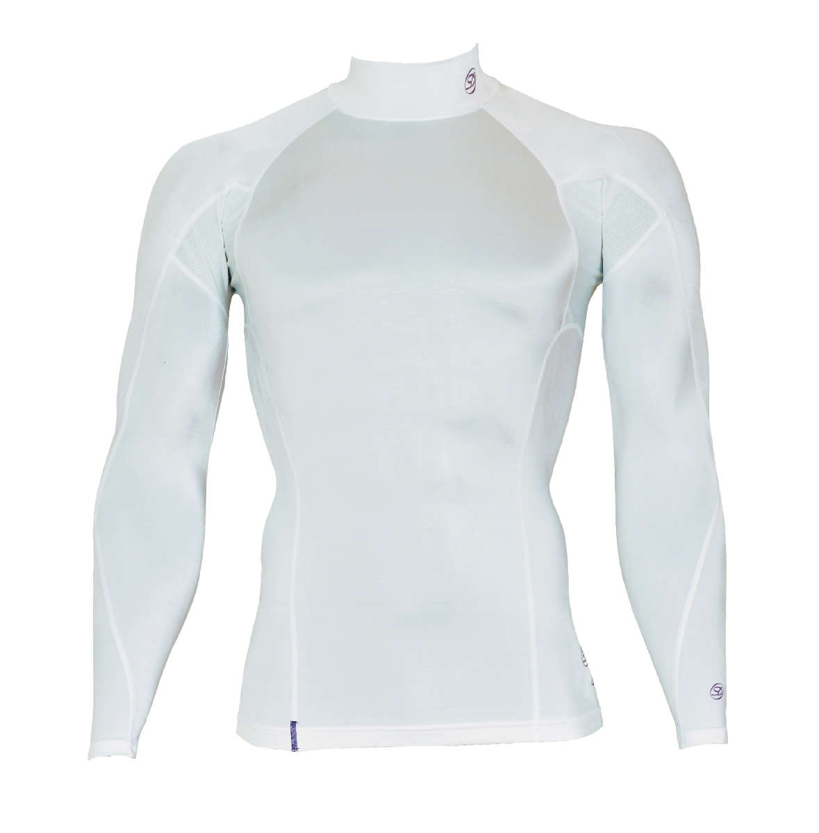 DORON (ドロン) SOFT Men's ハイネックシャツ ホワイト D0800