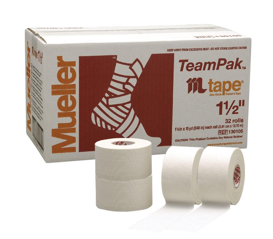 Mueller ミューラー ホワイトプロテープ 38mm (1ケース) #130105MJ