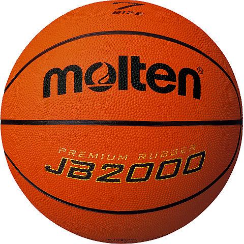 空気は入っていない状態でのお届けとなります 空気入れは別途ご用意 マーケティング ご購入ください モルテン molten B7C2000 返品不可 ゴムバスケットボール JB2000 7号球