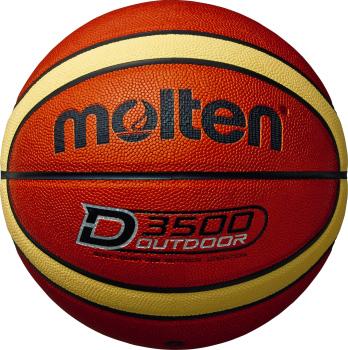 アウトドア用バスケットボール モルテン ブランド買うならブランドオフ molten アウトドアバスケットボール 世界の人気ブランド ブラウン×クリーム B7D3500 屋外用