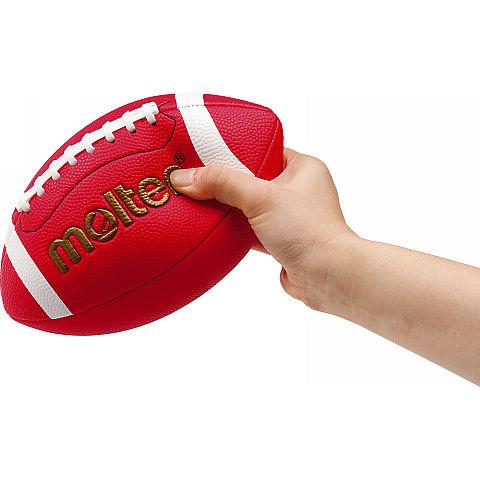 爆買い送料無料 公財 日本フラッグフットボール日本選手権公認球 在庫なし モルテン お金を節約 molten 小学生用 レッド フラッグフットボールミニ Q3C2500-QB