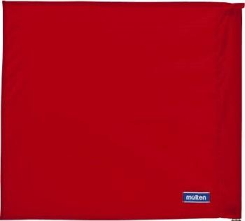 ※ポール 内祝い 収納袋は付属しません モルテン molten 線審フラッグ旗 お見舞い 赤 QV0028-R01 4枚セット レフェリーグッズ バレーボール