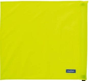 ※ポール 収納袋は付属しません モルテン molten 線審フラッグ旗 QV0028-Y01 セール価格 バレーボール 4枚セット レフェリーグッズ 未使用 黄