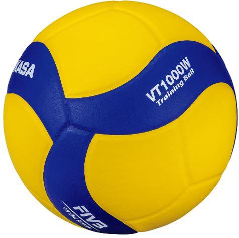 【ネーム加工可】ミカサ MIKASA バレーボール トレーニングボール 5号球 重量約1000g VT1000W