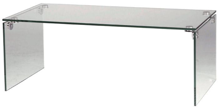 Modern De 05P12Oct14 Width 100 Cm Transparent Is A Simple Glass Table  (clear) W Center Table Café Table Furniture Long Rectangular Living Table  Transparent ...