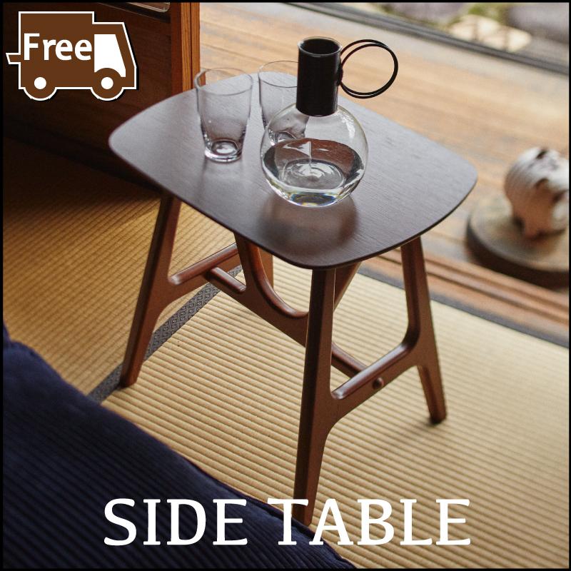 【本日20日はポイント10倍】【サイドテーブル セール中】サイドテーブル ナイトテーブル ミニテーブル 木製 天然木 欧風 レトロ 和モダン 和室 おしゃれ