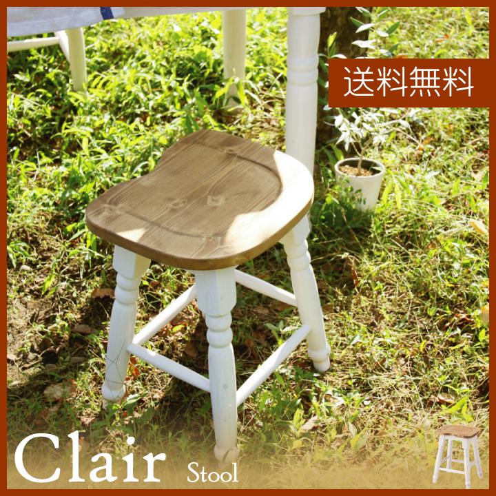 【本日20日はポイント10倍】【1人掛けチェア セール中】【2脚セット】スツール チェア チェアーイス いす 椅子 リビング 玄関 木製 パイン材 カントリー おしゃれ 可愛い 新生活