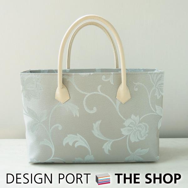 【バッグ】 レディース 和装バッグ グロウ Mバッグ A4 ブルー 【送料無料】 【川島織物セルコン】 1KM467321