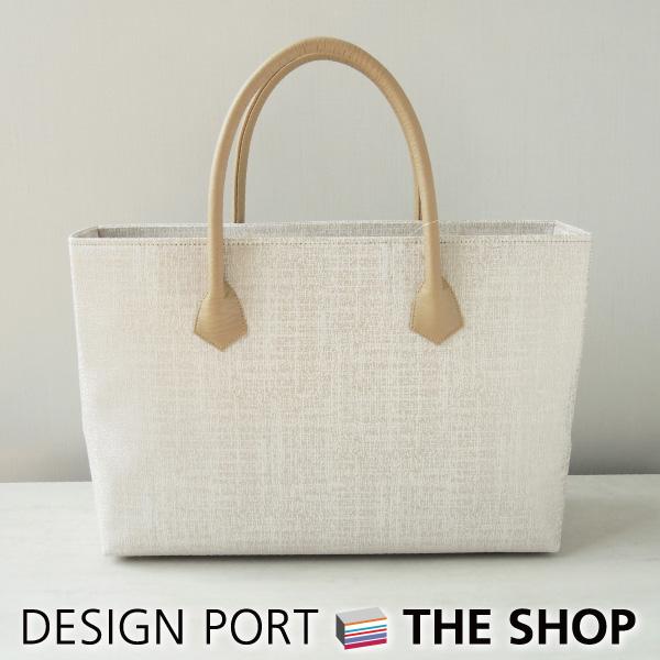 【バッグ】 レディース 和装バッグ クラシック2 Mバッグ A4 アイボリー 【送料無料】 【川島織物セルコン】 1KM467434