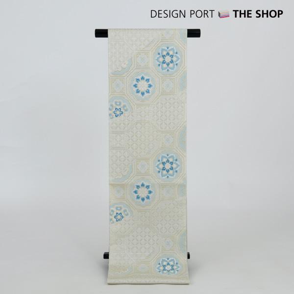 川島織物セルコン 帯 着物 和装 夏袋帯 白 芯入仕立上り セール特価 1ll863330 公式ショップ 涼錦蜀江 送料無料