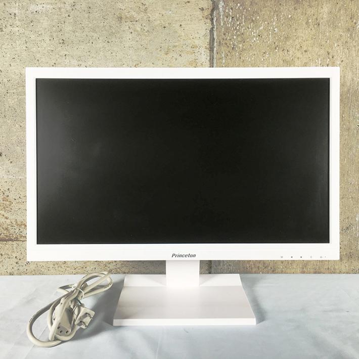 【中古】【液晶ディスプレイ】【送料無料】★プリンストンテクノロジー【 Princeton 】PTFWKF-22W★・白色LEDバックライト・21.5型ワイドカラー液晶ディスプレイ・ホワイト・アナログ入力端子(D-subミニ15ピン)X 1・デジタル入力端子(HDMI)X 2