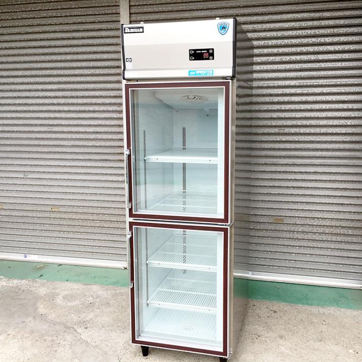 【中古】【厨房機器】【2011年製】★大和冷機 リーチイン冷蔵ショーケース 211DP2-EC★・店舗用品・業務用冷蔵庫・有効内容積424L・単相100V
