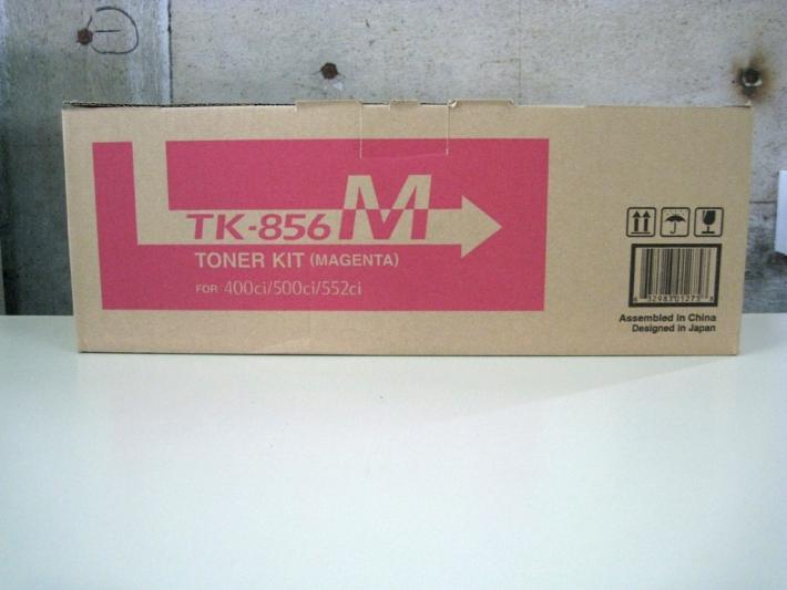【純正トナーカートリッジ】★京セラ TK-856M 「マゼンタ」★・対応機種:TASKalfa 400ci、500ci、552ci・【あす楽】【トナーは1万円以上のお買い上げで送料無料!】【平日午後4時までにご注文確定なら当日発送致します!】