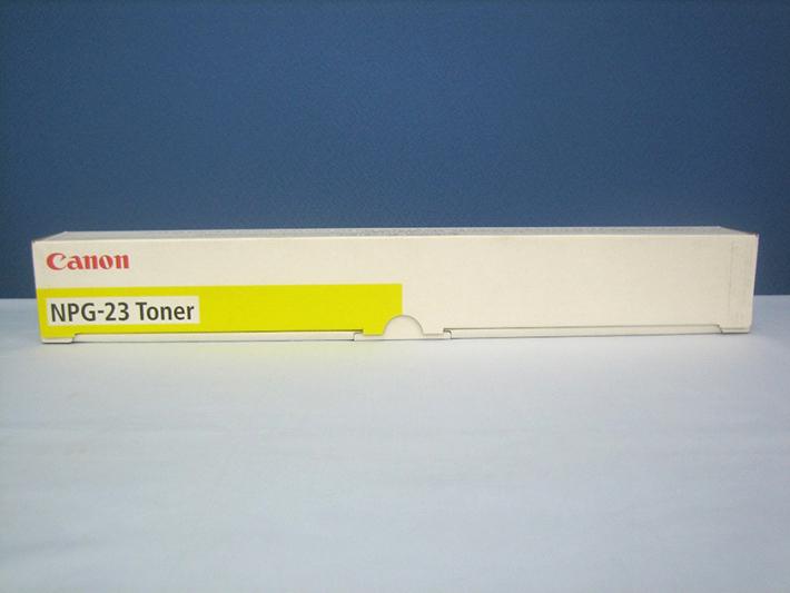 【純正トナーカートリッジ】★キャノン NPG-23 (イエロー)★・対応機種:iRC2570、iRC2580、iRC3100、iRC3170、iRC3180・【あす楽】【共通の送料込みライン対象商品】【平日午後4時までにご注文確定なら当日発送致します!】